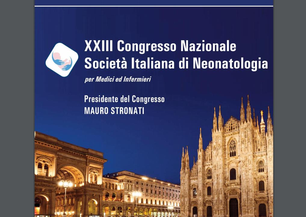 xxiii congresso nazionale societ italiana di neonatologia
