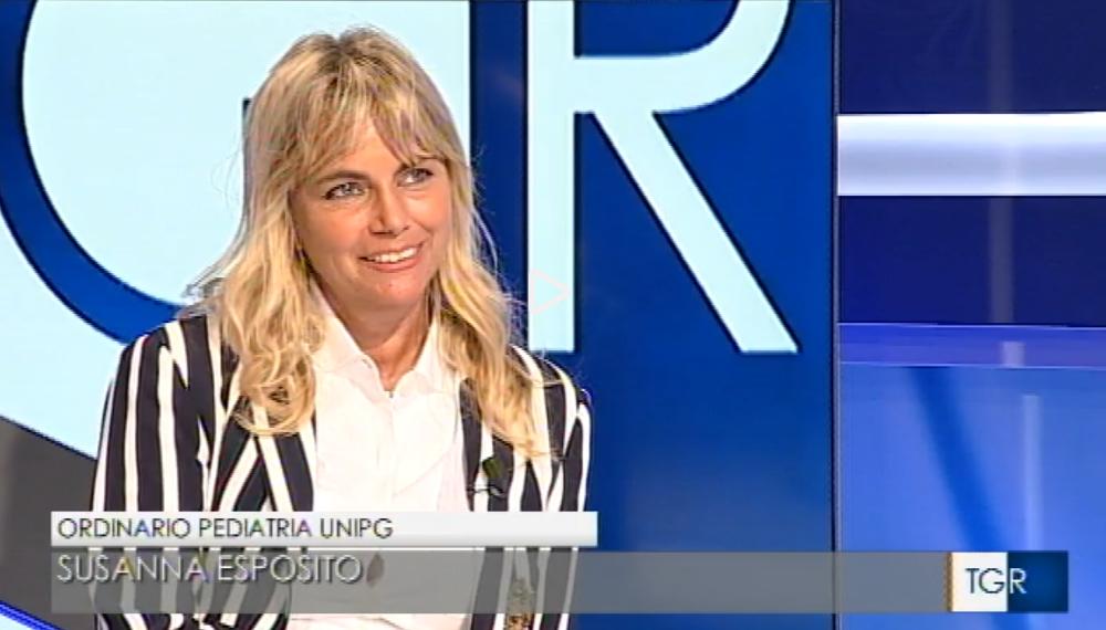 Susanna Esposito al TGR Umbria sul nuovo Decreto Vaccini [VIDEO]