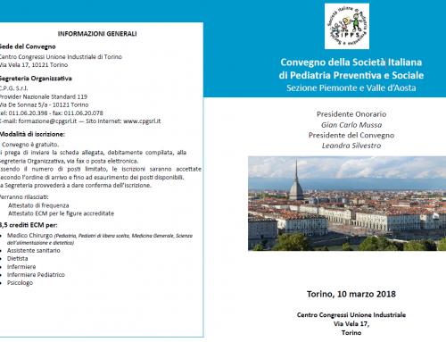 Convegno della Società Italiana di Pediatria Preventiva e Sociale