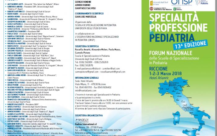 13° Edizione Specialità e Professione in Pediatria - Susanna Esposito