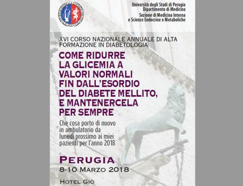 XVI Corso Nazionale Annuale in Diabetologia