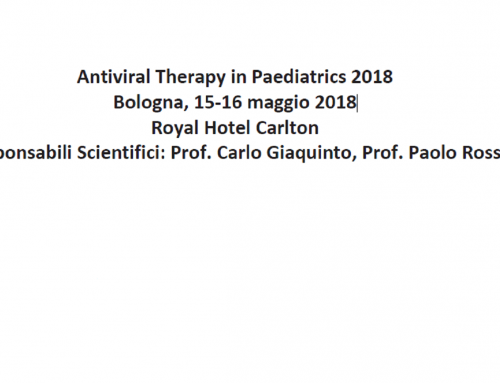 Antiviral Therapy in Paediatrics 2018