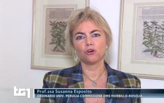 Susanna Esposito TG1 Vaccini Morbillo