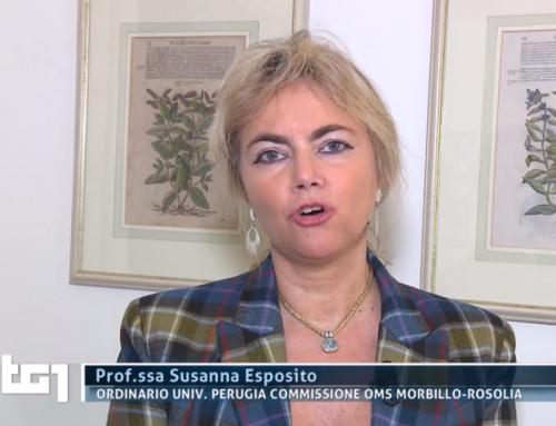 Susanna Esposito al TG1 sul tema del Morbillo [VIDEO]