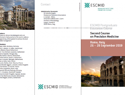 ESCMID Postgraduate Education Course – Rome 2019