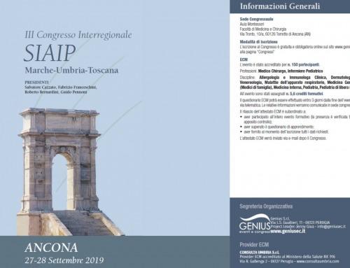 III Congresso Interregionale SIAIP