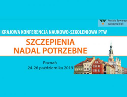 VIII Krajowa Konferencja Naukowo – Szczepienia Nadal Potrzebne
