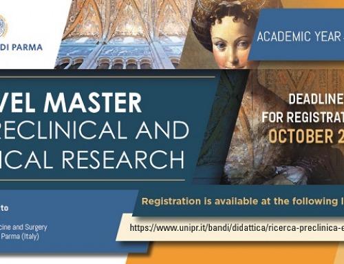 Master Ricerca Clinica e Preclinica Università di Parma