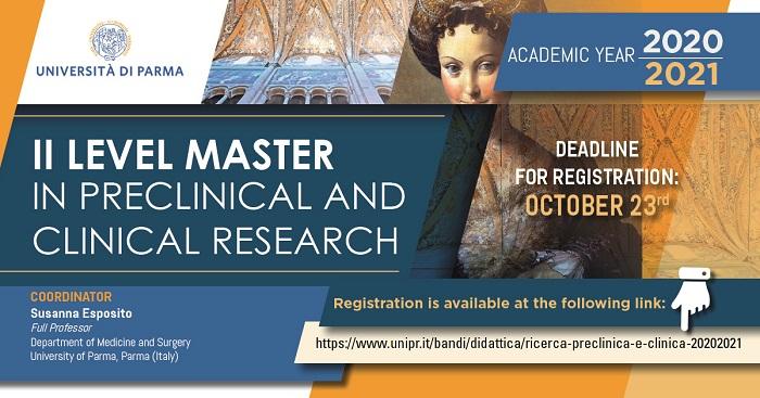 susanna esposito master ricerca clinica preclinica
